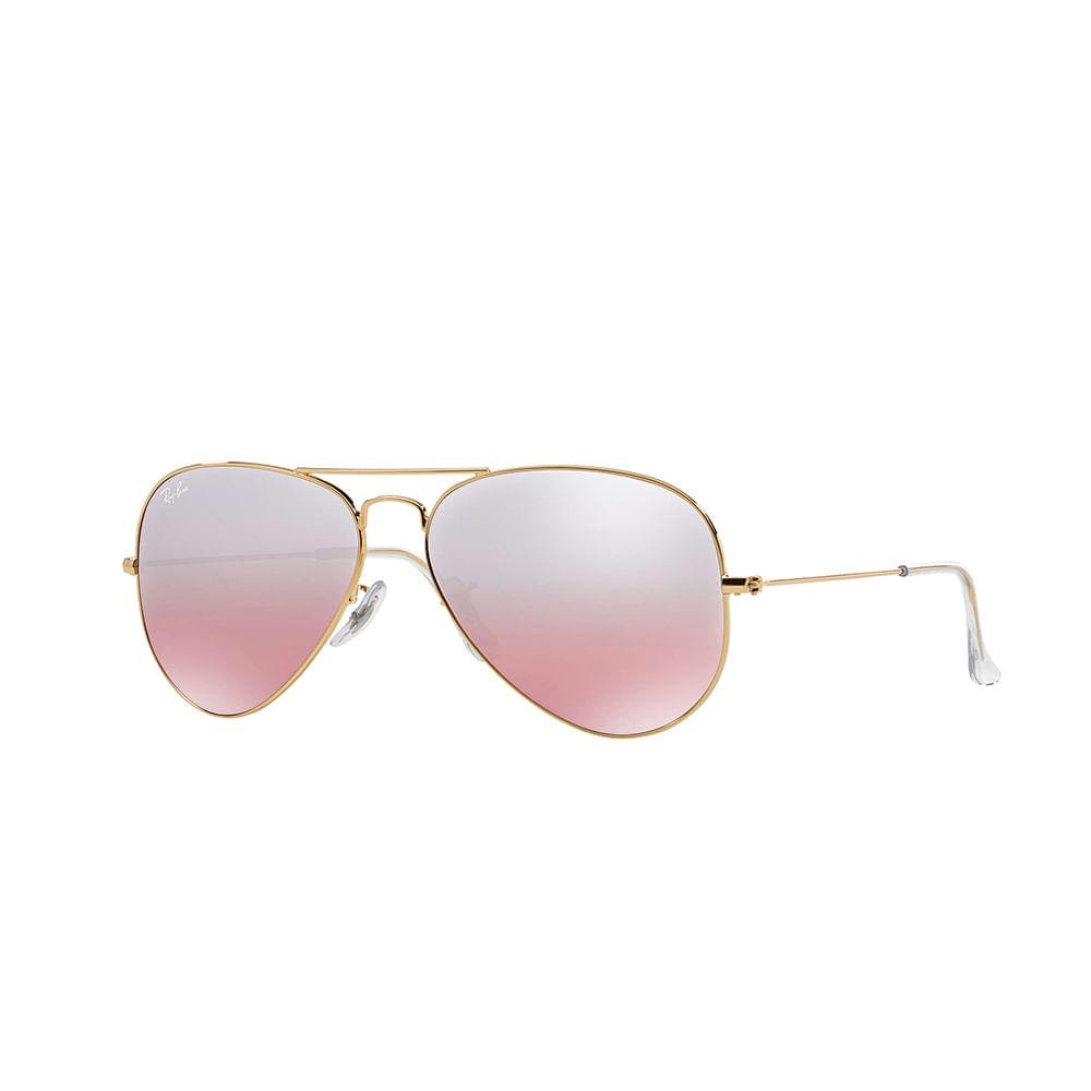 Oculos-de-Sol-Ray-Ban-Aviador-RB3025--Rose-