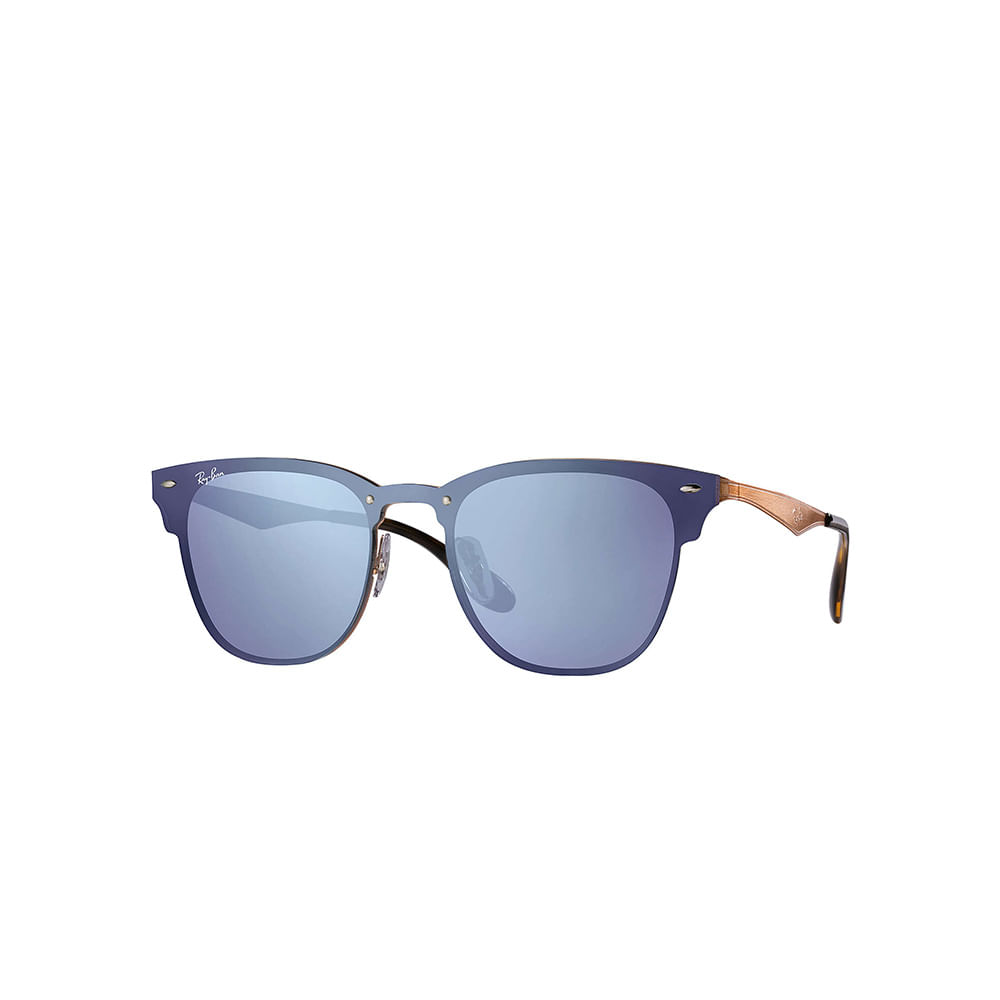 Oculos-de-Sol-Ray-Ban-Blaze-Clubmaster-RB3576N---Rose-