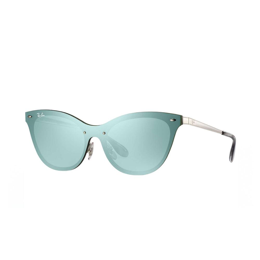 Oculos-de-Sol-Ray-Ban-Cat-Eye-RB3580N---Espelhado