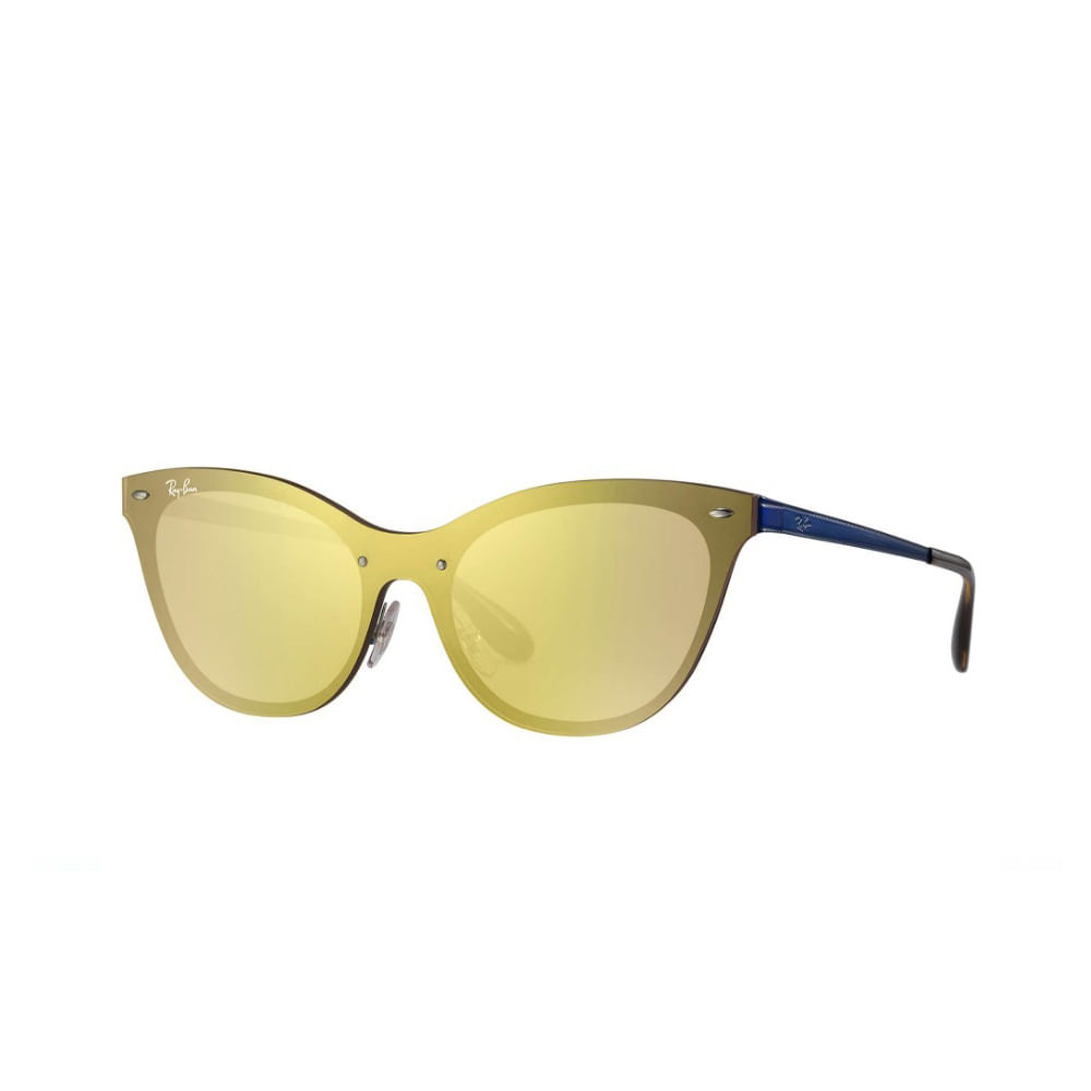 Oculos-de-Sol-Ray-Ban-Blaze-Cat-Eye-RB3580N---Laranja-