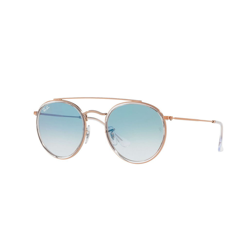 Oculos-de-Sol-Ray-Ban-Double-Bridge-RB3647N---Rose-