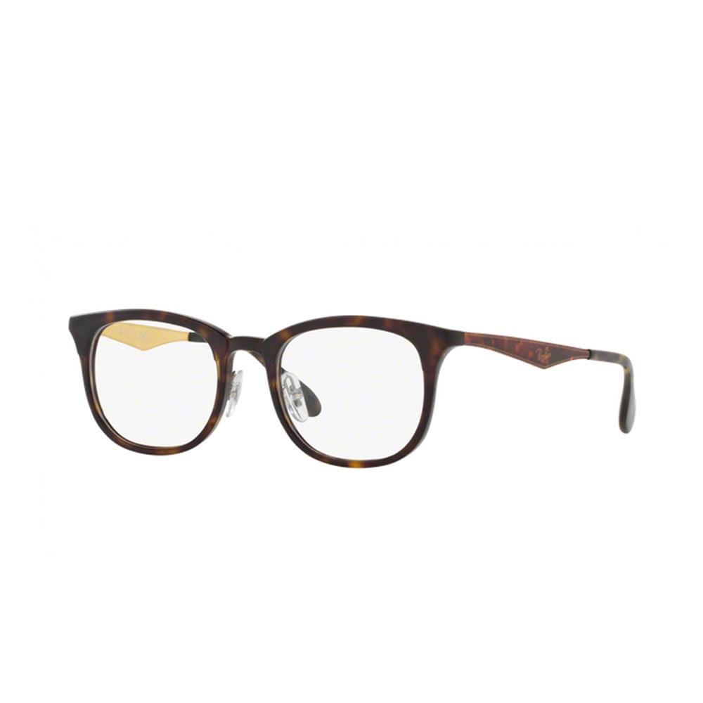 Oculos-de-Grau-Ray-Ban-ClubMaster-RX7112---Tartaruga-