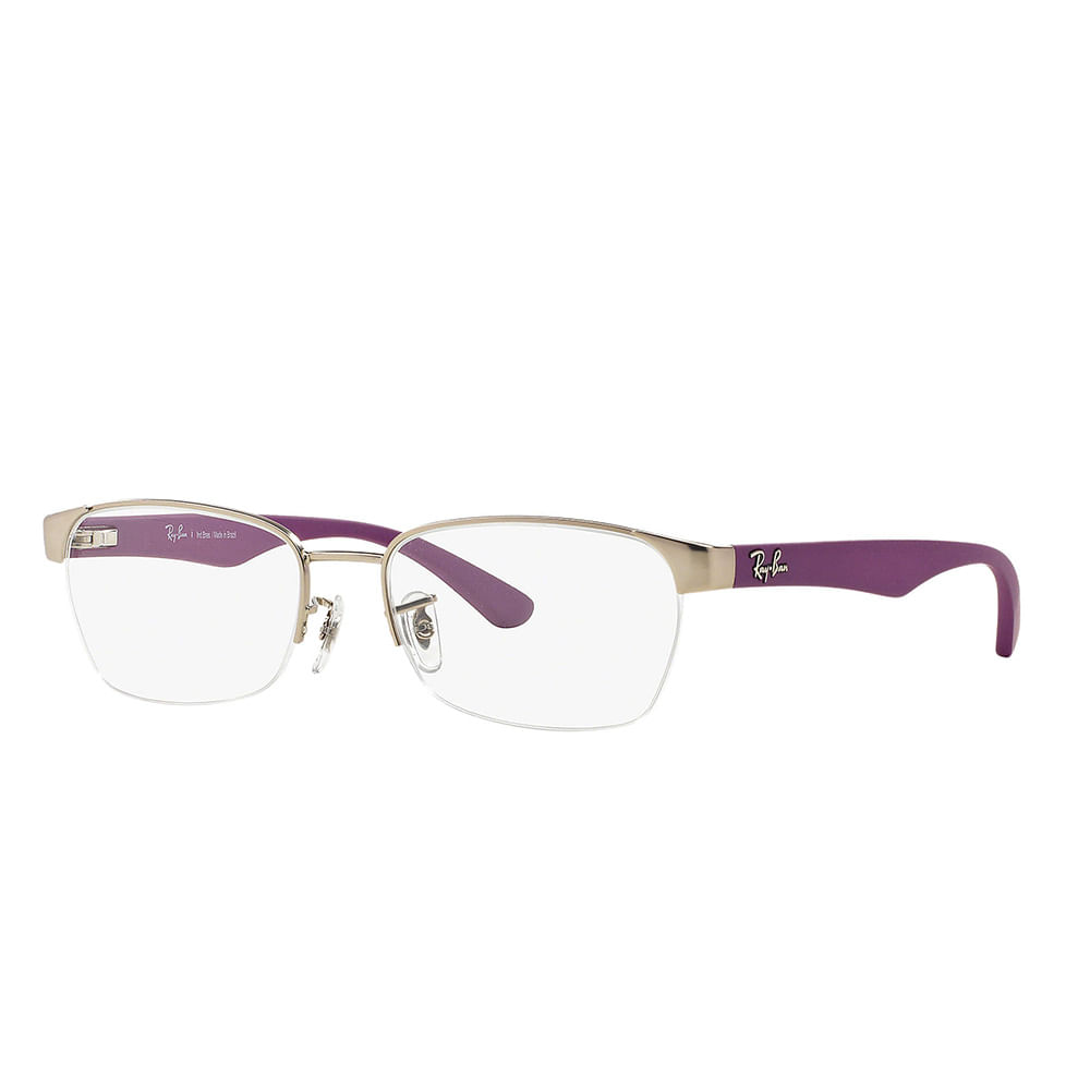 Oculos-de-Grau-Ray-Ban-RX-6315L-SATIN-NICKEL-