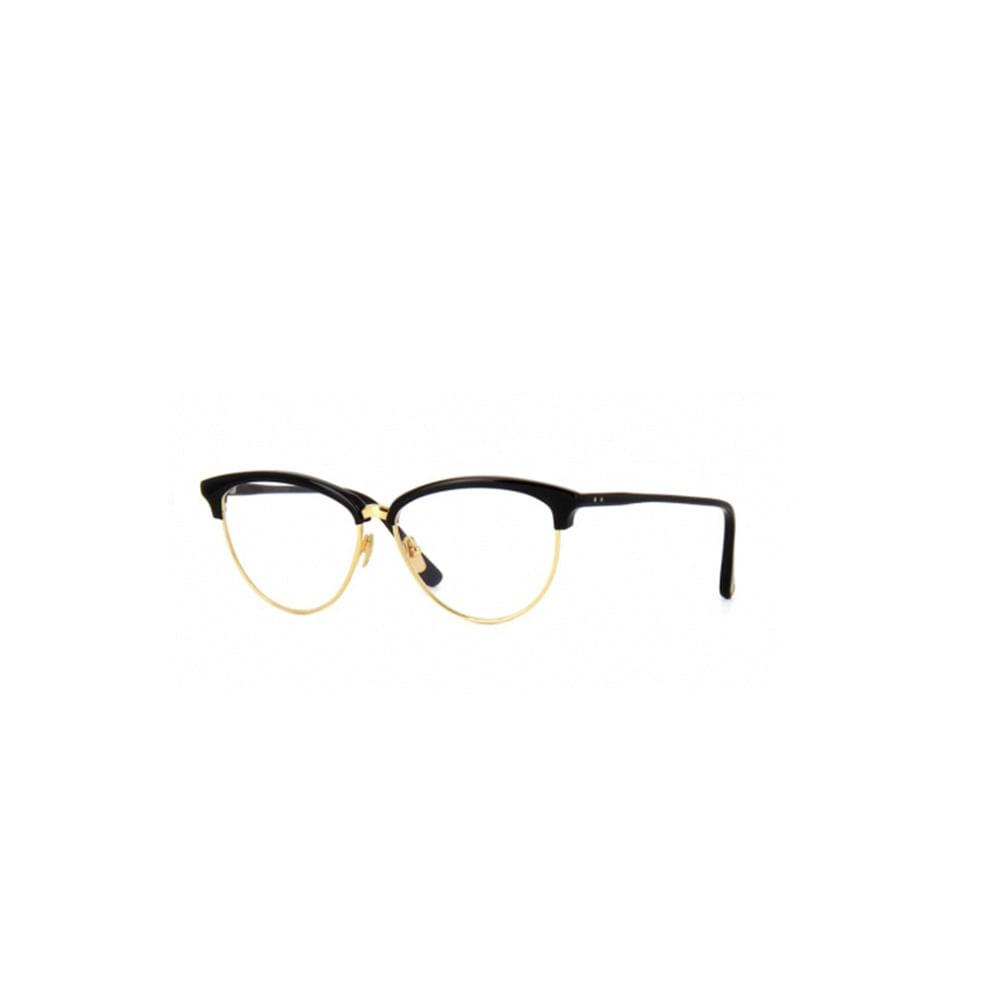 Oculos-de-Grau-Dita-Reflection-Preto-e-Dourado