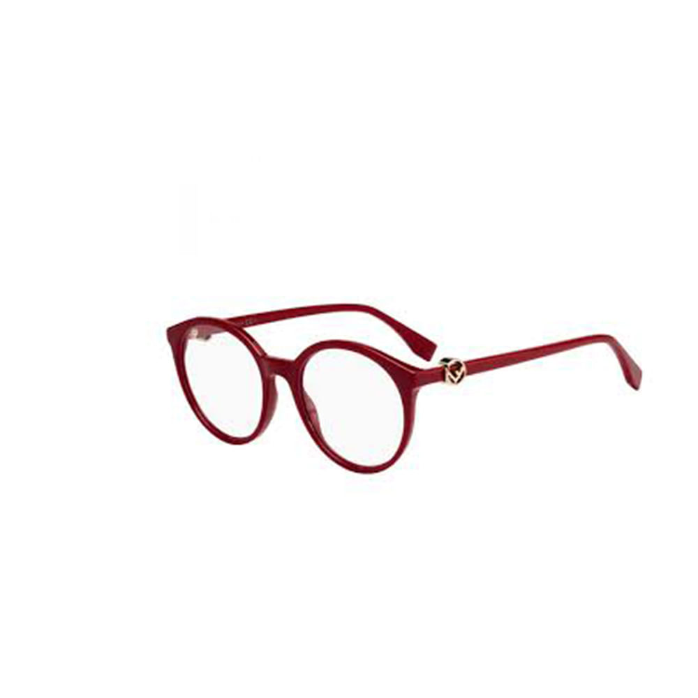 Oculos-de-Grau-Fendi-0309-086-Vermelho-