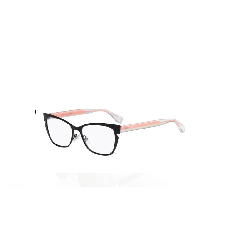Oculos-de-Grau-Fendi-0135-N8T-Preto-e-Rosa
