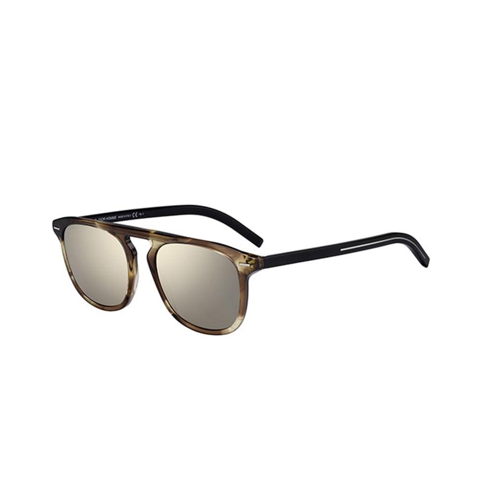 Oculos-de-Sol-Dior-BLACKTIE-249S-XGWDC-Preto-e-Bronze