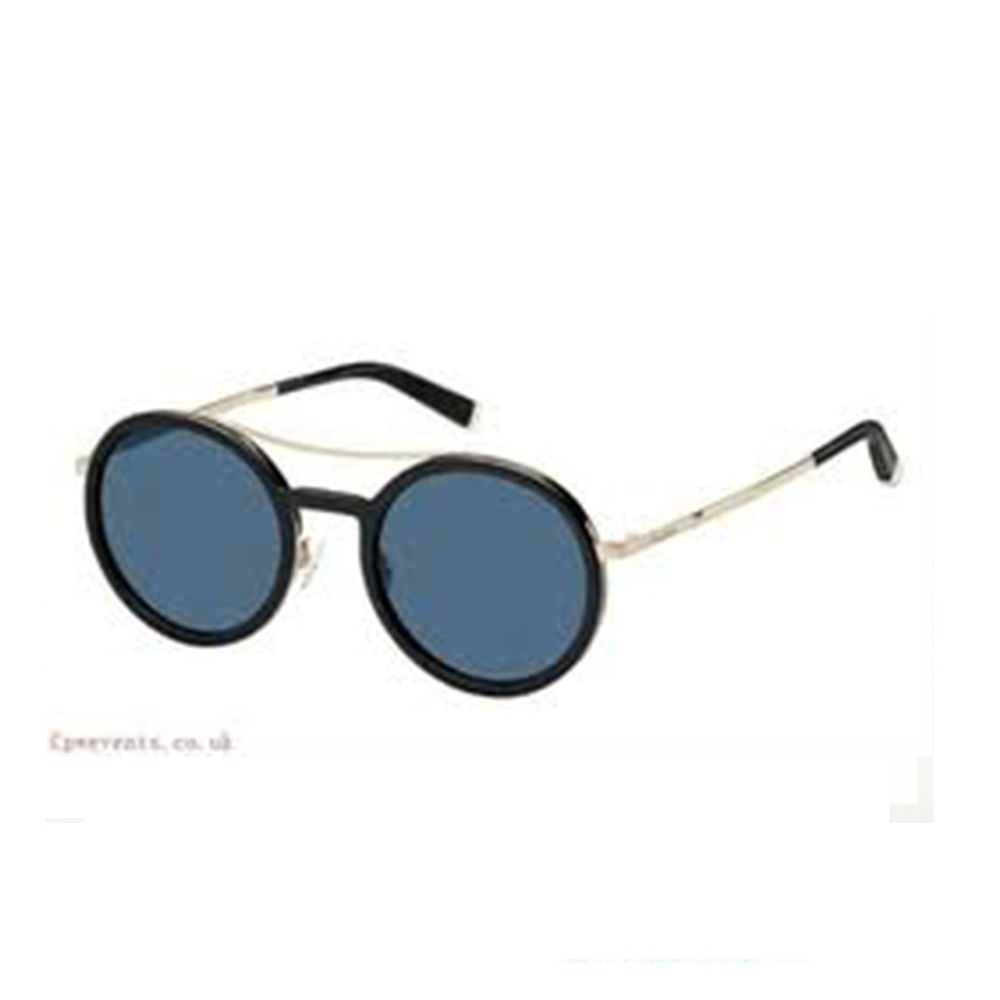 Oculos-de-Sol-Max-Mara-Oblo-Preto-e-Prata-