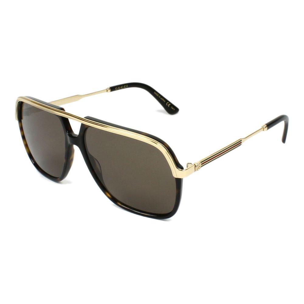 Oculos-de-Sol-Gucci-GG0200S-Dourado-e-Preto