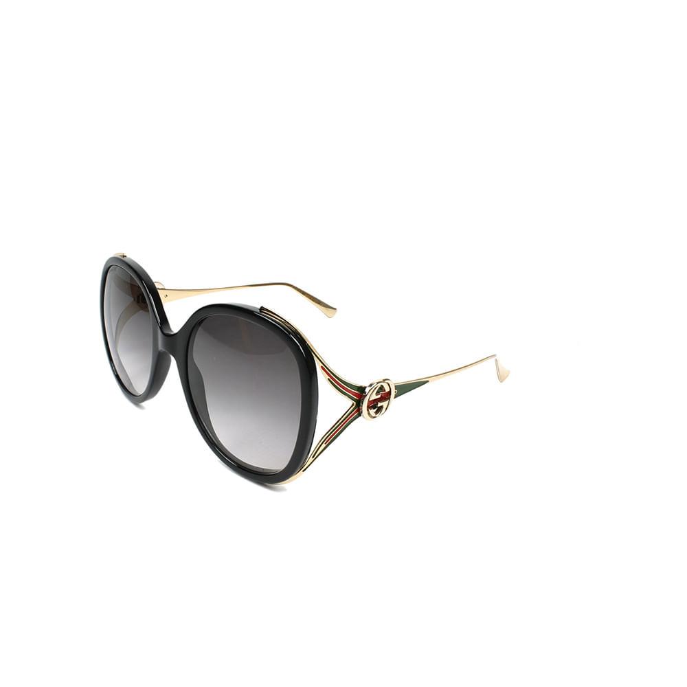 Oculos-de-Sol-Gucci-GG0226-S-Dourado-e-Vermelho