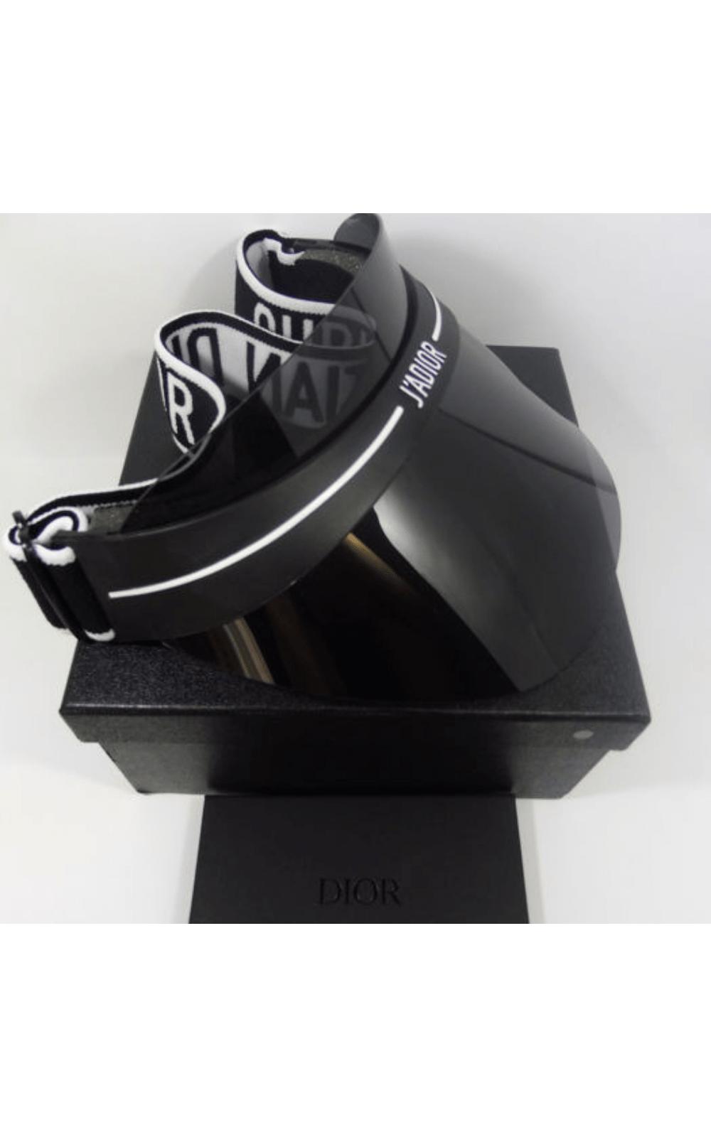 90522d6529a ... Foto 4 - Viseira Dior CLUB 1 Preta OH3 ...
