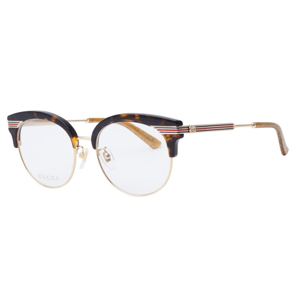 f92b87bc60b84 Óculos de Grau Gucci 0285 OA 002 - Cristalli Otica