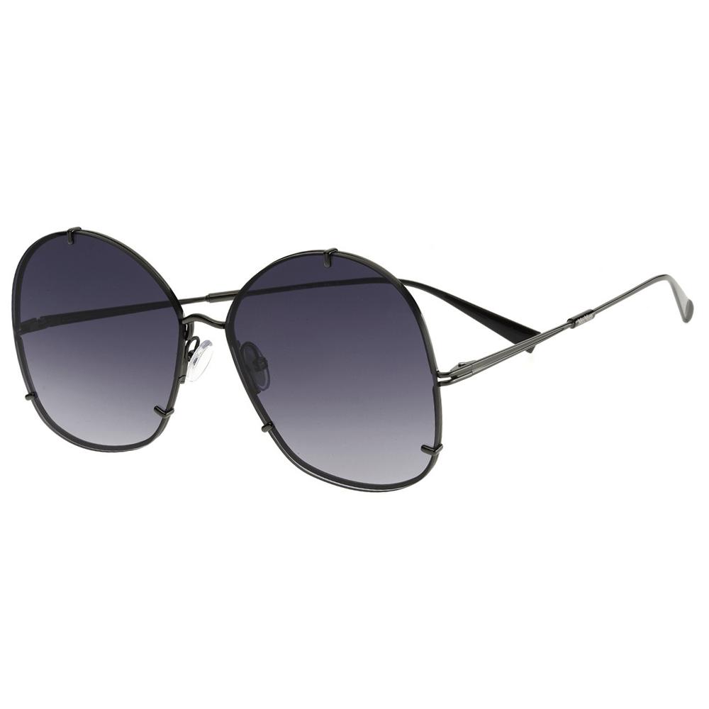 2079c7c85ff95 Óculos de Sol Max Mara Hooks Preto V819O - Cristalli Otica