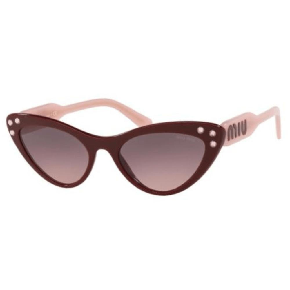 17861422476b9 Óculos de Sol Miu Miu 05 T Logomania USH-146 - Cristalli Otica