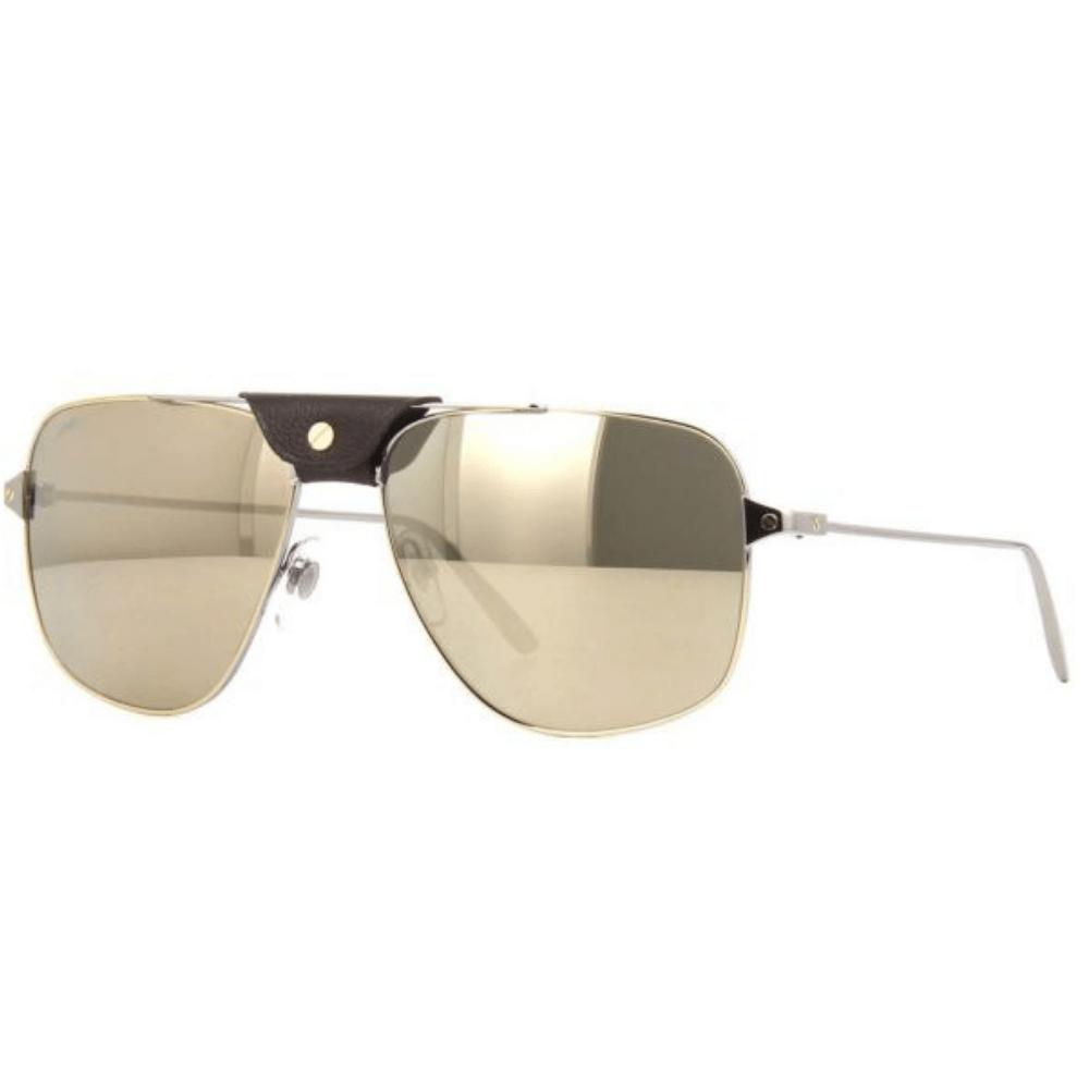 6fda4491fce3c Óculos de Sol Cartier 0037 S 003 - Tamanho 59