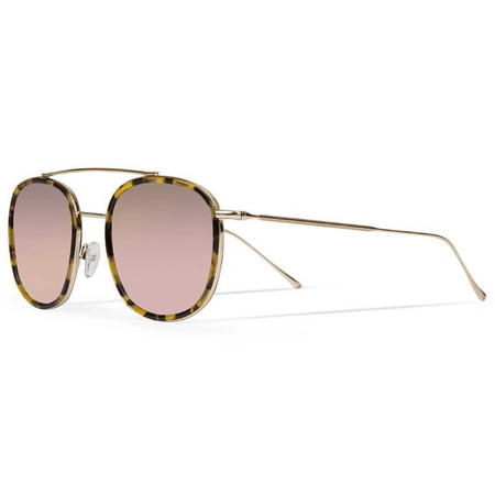 4d078044e Óculos de Sol Illesteva Mykonos Ace Tartaruga branco / Rosê