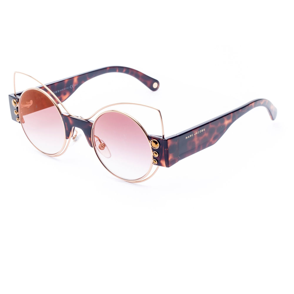 09f07aa7c8026 Óculos de Sol Feminino Marc Jacobs 1 S VJYJL - Tamanho 49