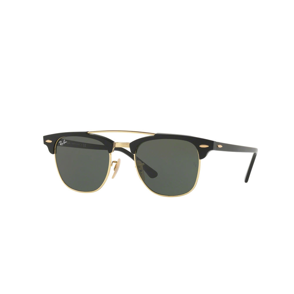 Oculos-de-Sol-Ray-Ban-Black-Gold-RB3816--Preto-