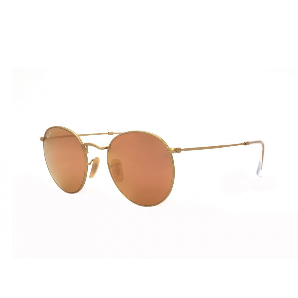 Oculos-de-Sol-Ray-Ban-Round-3447L--Rose