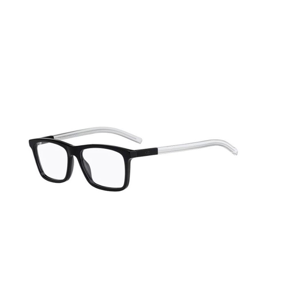 Oculos-de-Grau-Dior-BLACKTIE-215-OQJ-Preto-e-Branco