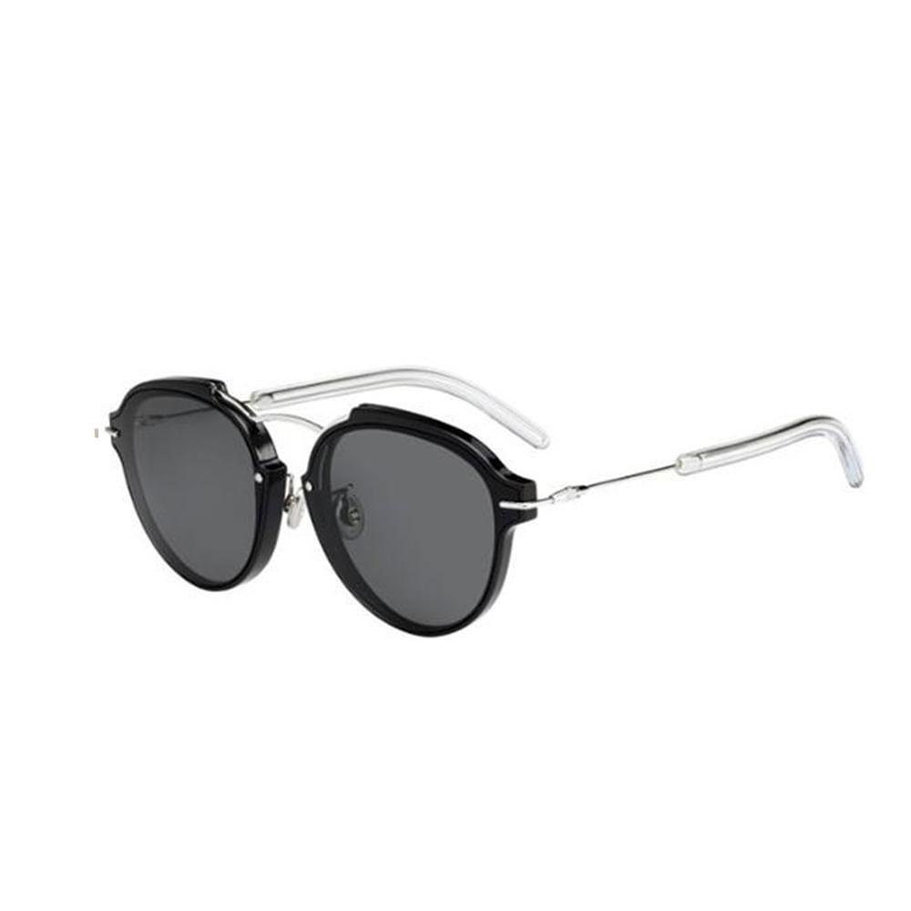 -Oculos-de-Sol-Dior-HOMME-220-ECLQT-Preto-e-Prata