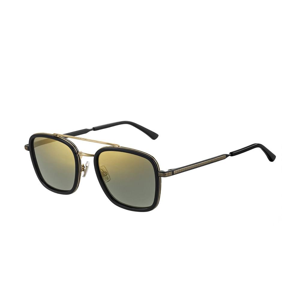 Oculos-de-Sol-Jimmy-Choo-John-S-Preto-e-Dourado-
