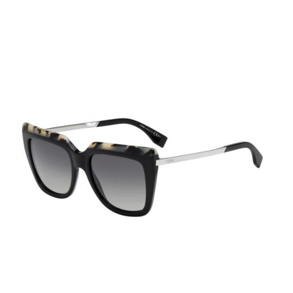 Oculos-de-Sol-Fendi-0087-S-Preto-e-Cinza-