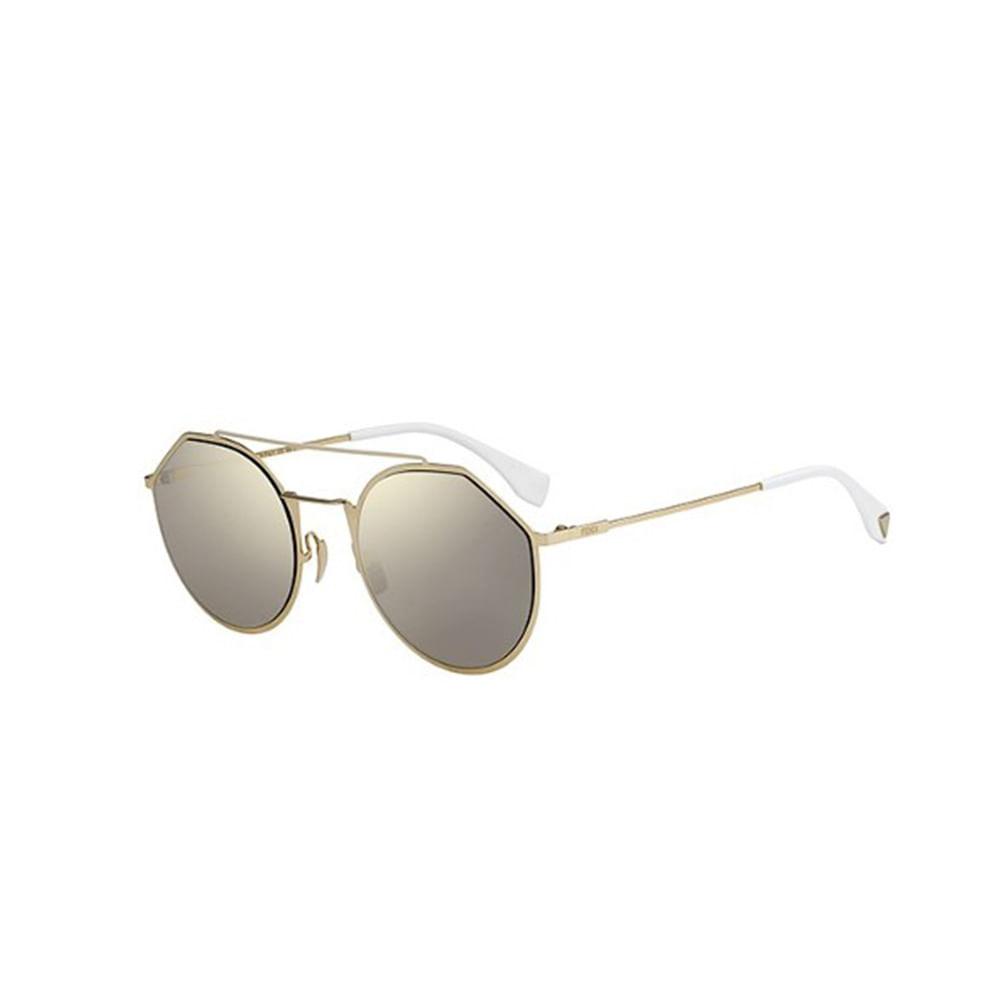 Oculos-de-Sol-Fendi-M-0021-S-Dourado