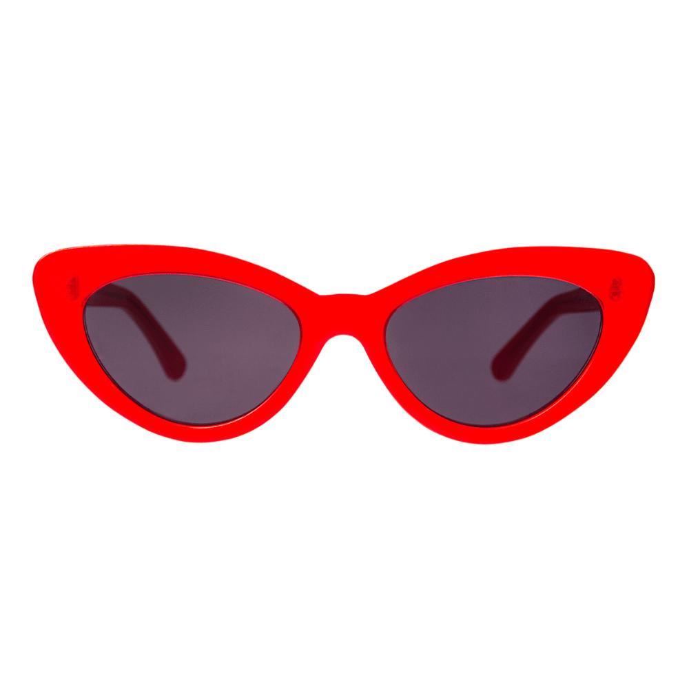 oculos de sol gatinho vermelho