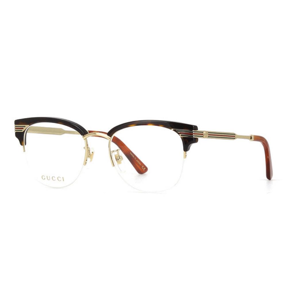 38fb2a23f Óculos de Grau Gucci 0201 O 002 - Cristalli Otica