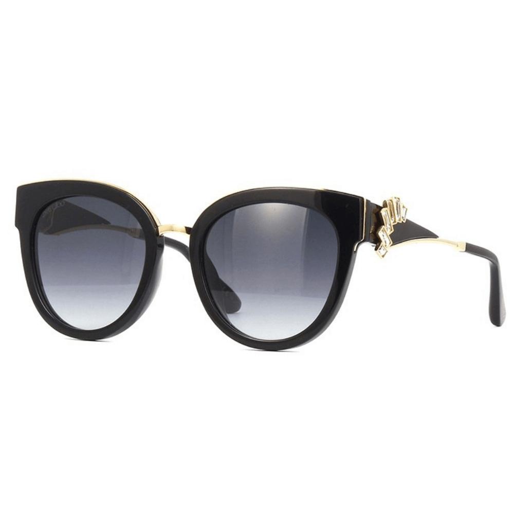 Oculos-de-Sol-Jimmy-Choo-Jade-S-1A59O-Preto-e-Dourado