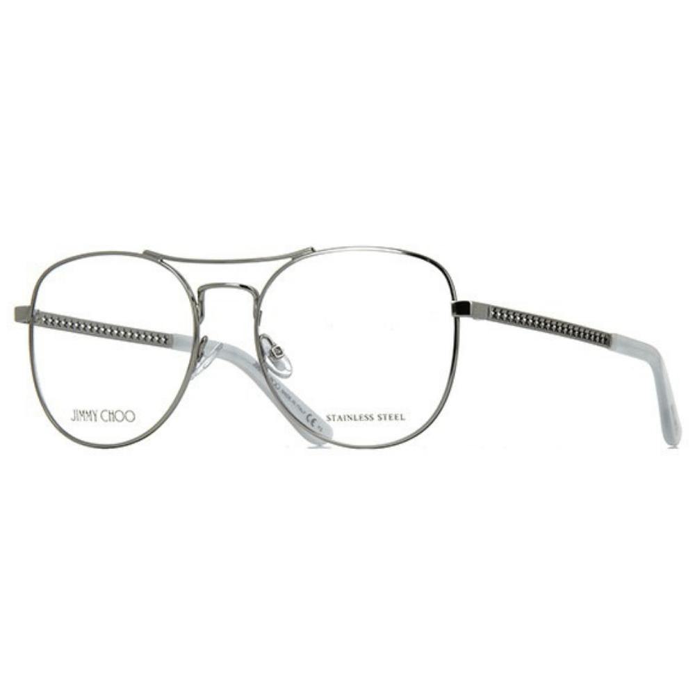 93b79946b Óculos de Grau Jimmy Choo 200 YB7 - Tamanho 54