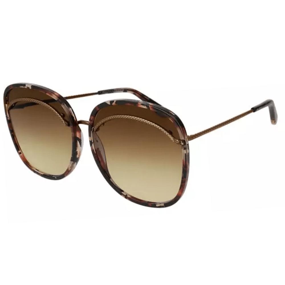 Oculos-de-Sol-Bottega-Veneta-0138-S-Marrom