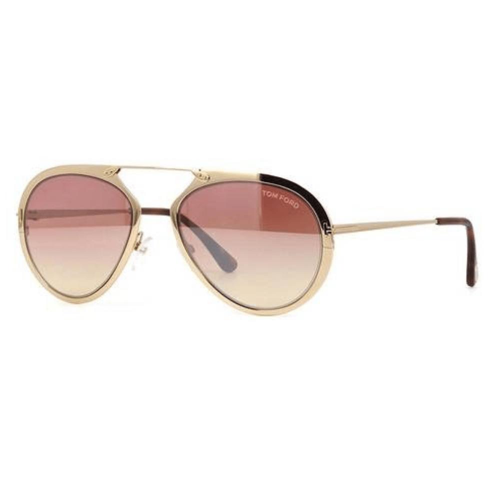cb3c6bb344bb8 Óculos de Sol Tom Ford Rosê – Cristalli Otica