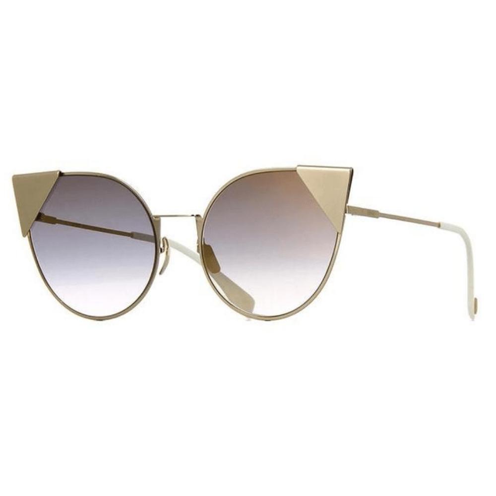 Oculos-de-Sol-Fendi-0190-S-000FQ-Dourado-