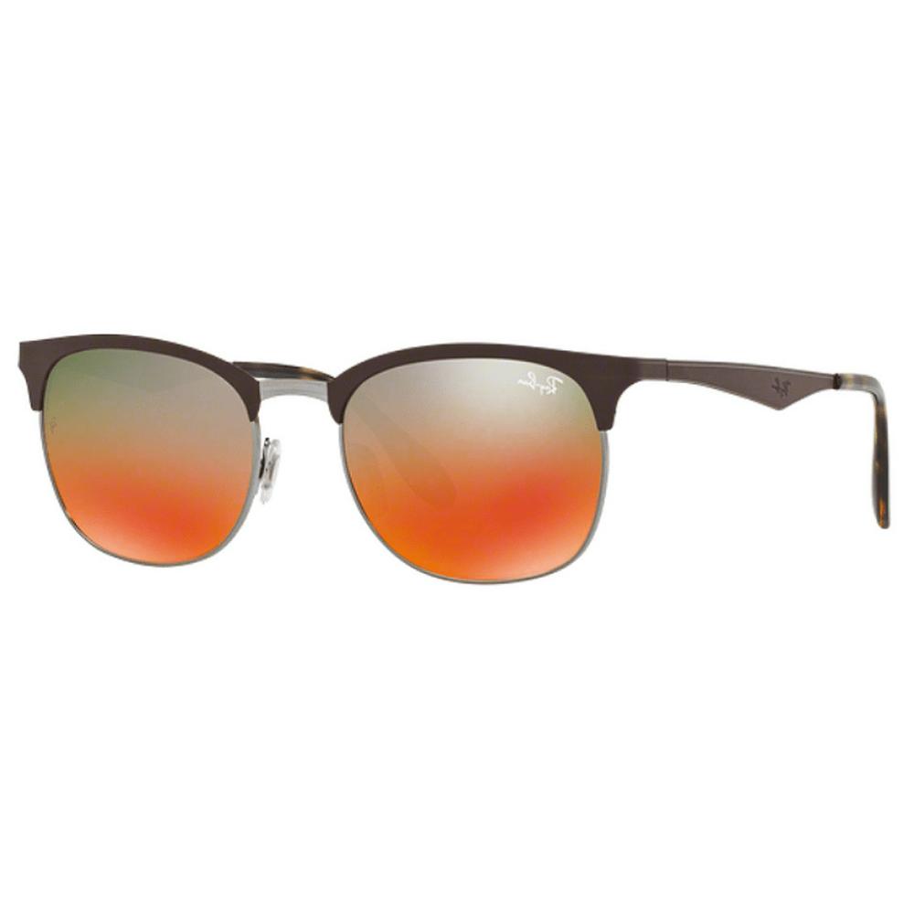 Oculos-de-Sol-Ray-Ban-ClubMaster-RB3538--Laranja