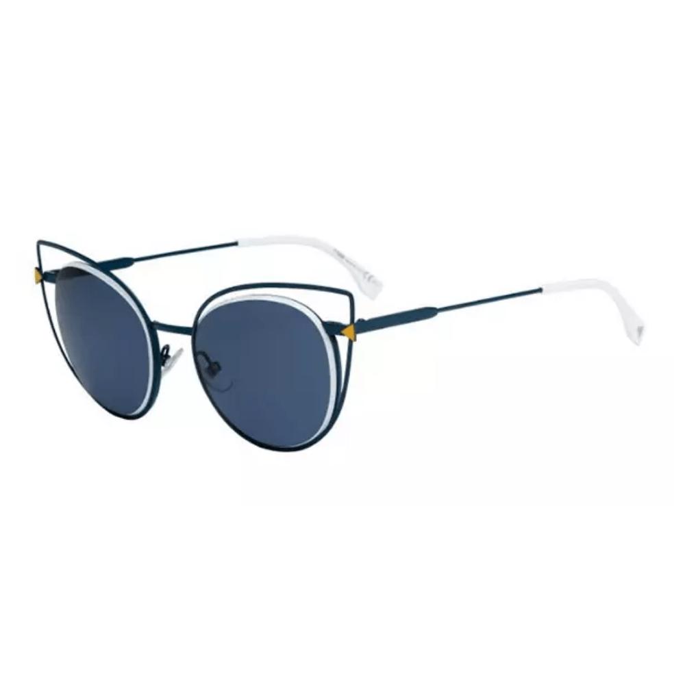 Oculos-de-Sol-Fendi-0176-S-TLP72-Azul