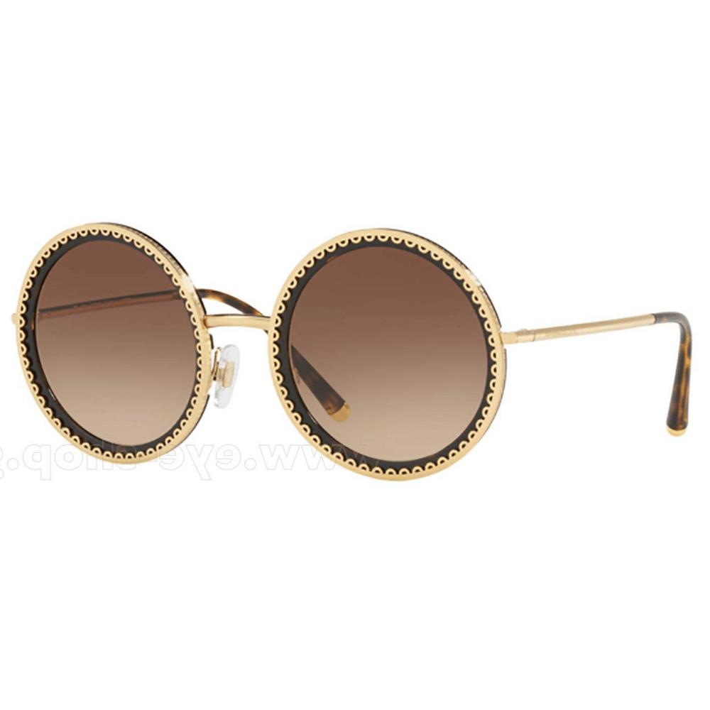Óculos de Sol Dolce   Gabbana 2211 Marrom 02 13 - Tamanho 53 4527ba30ee