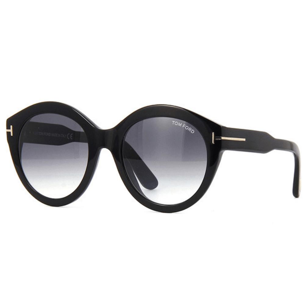 40d6ae9d5b678 Óculos de Sol Tom Ford Rosanna 661 Preto 01B - Tamanho 54 · Feminino