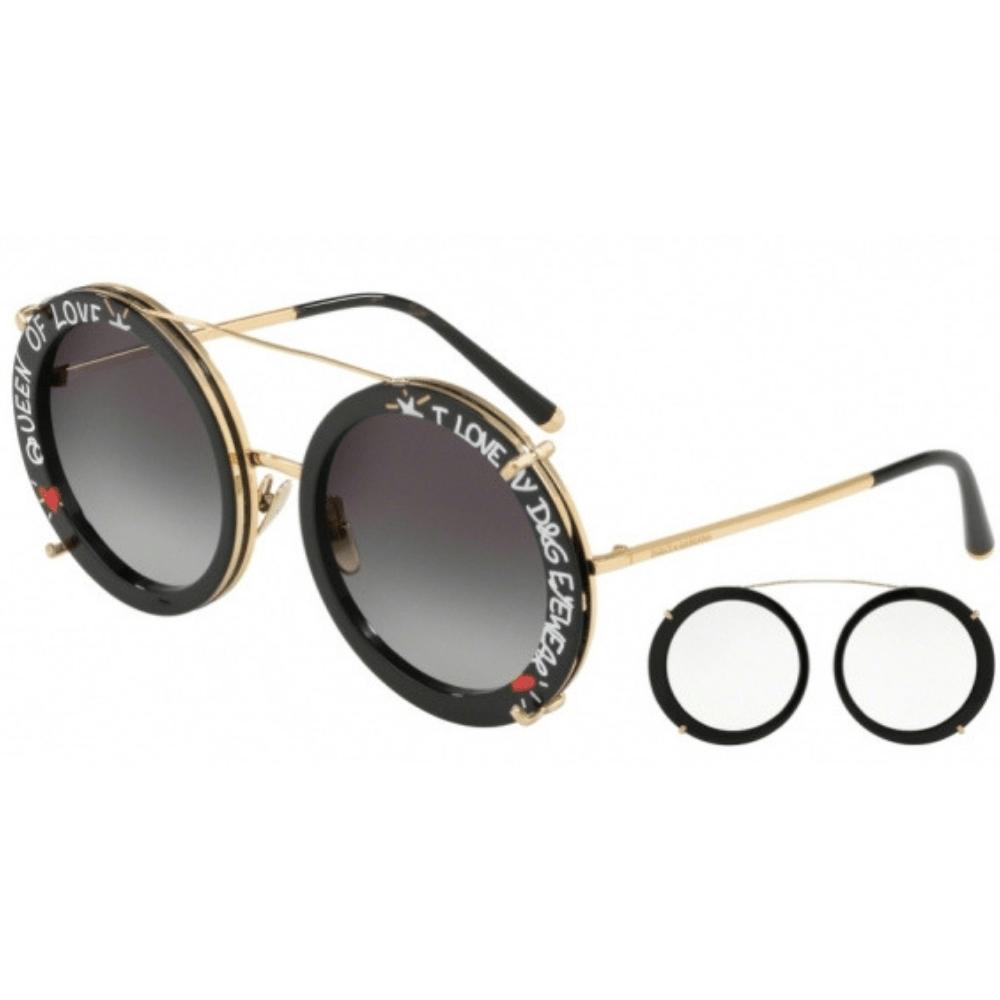 dc16ee3cd724f Óculos de Sol Dolce   Gabbana Customize DG2198 02 8G - Tamanho 63