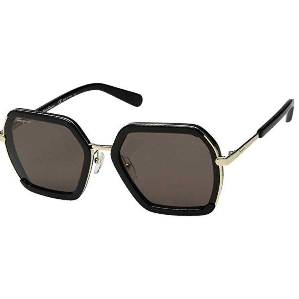 51a14e9db Óculos de Sol Salvatore Ferragamo 901S Preto 001 - Tamanho 57