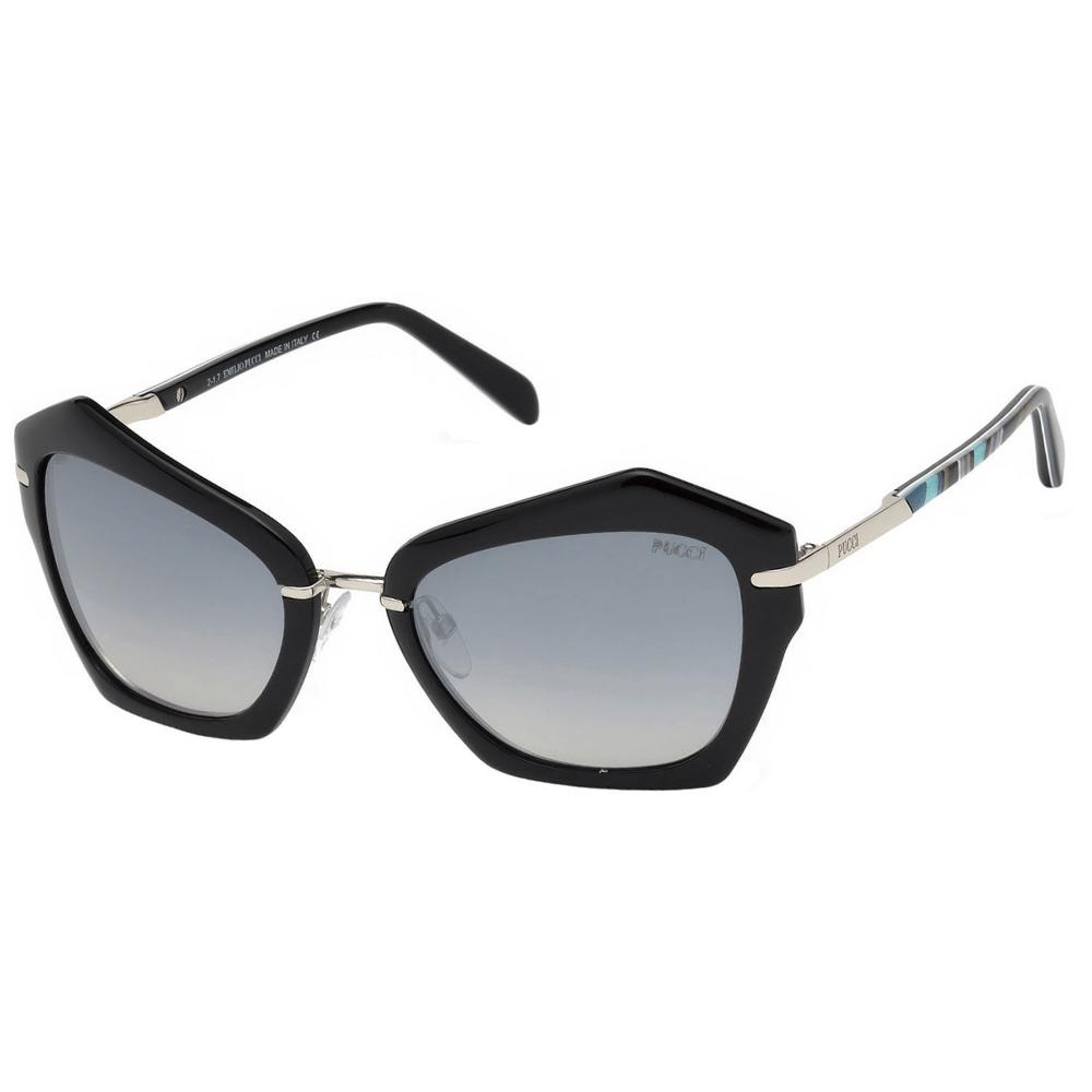 3e3e6fb3c Óculos de Sol Emilio Pucci 0072 01B - Tamanho 56 · Feminino