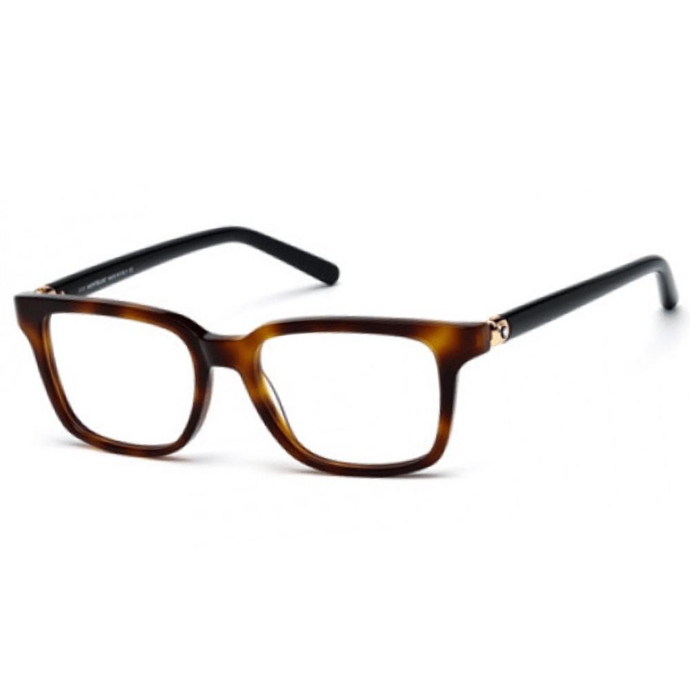 134bc8848 Óculos de Grau Mont Blanc 0486 Havana 052 - Cristalli Otica