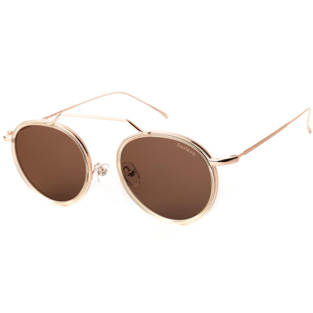 Oculos-de-Sol-Illesteva-Wynwood-Champagne---Rose-Dourado