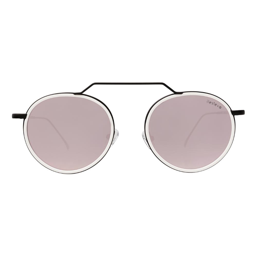 Oculos-de-Sol-Illesteva-Wynwood-Branco---Preto-Fosco