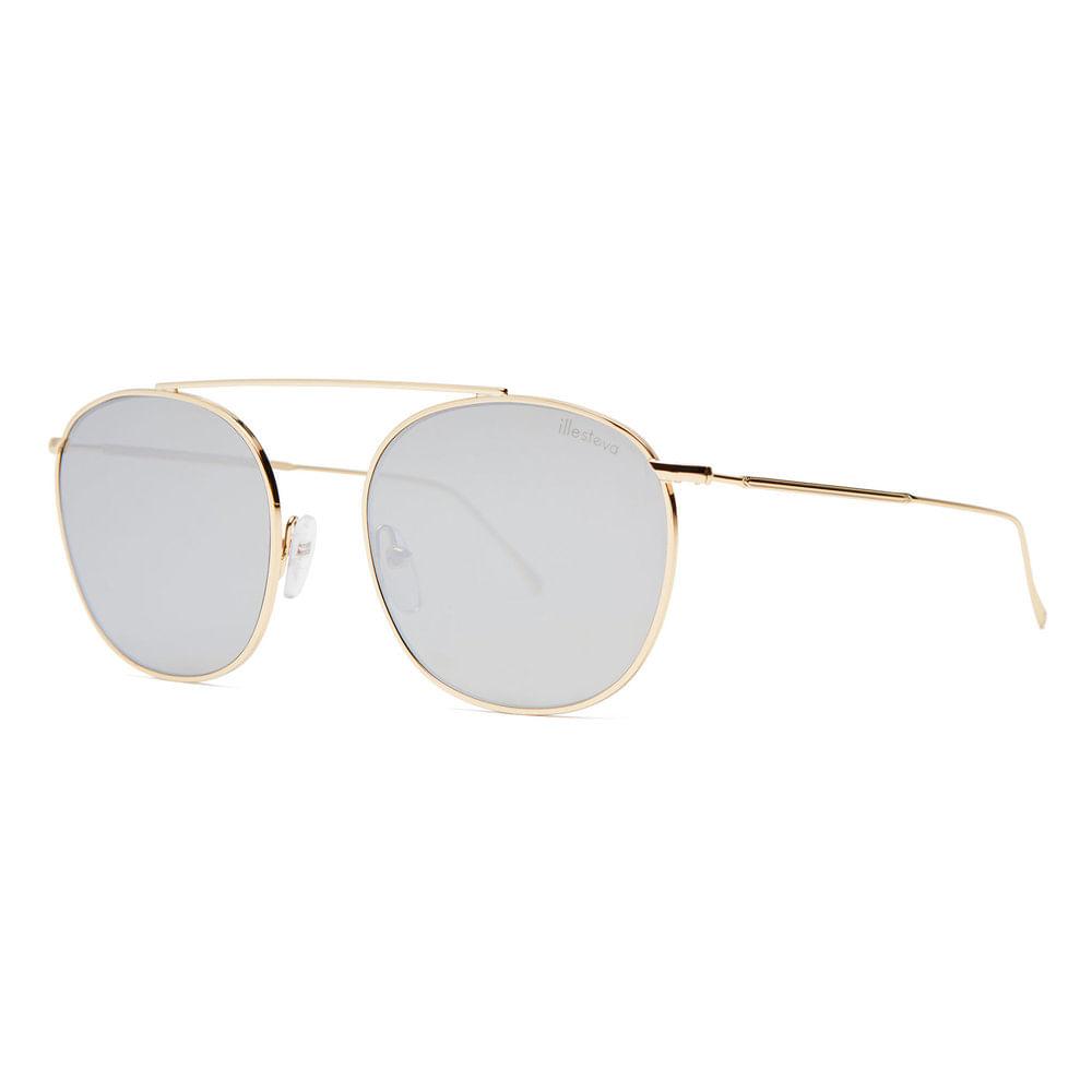 Oculos-de-Sol-Illesteva-Mykonos-II-Prata-Dourado