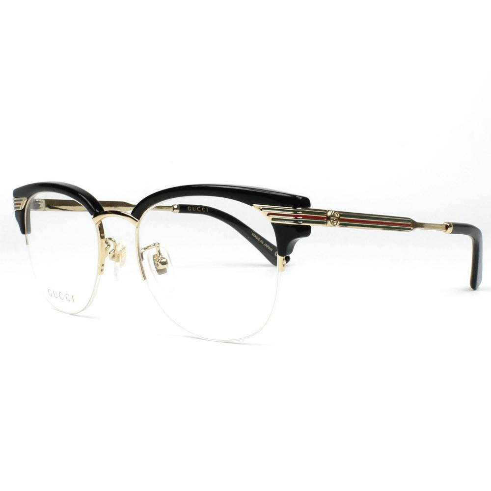 6f27172b5 Óculos de Grau Gucci 0201 O 001 - Cristalli Otica