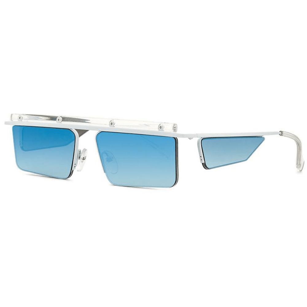 Oculos-de-Sol-Le-Specs-The-Flex-Azul-Branco