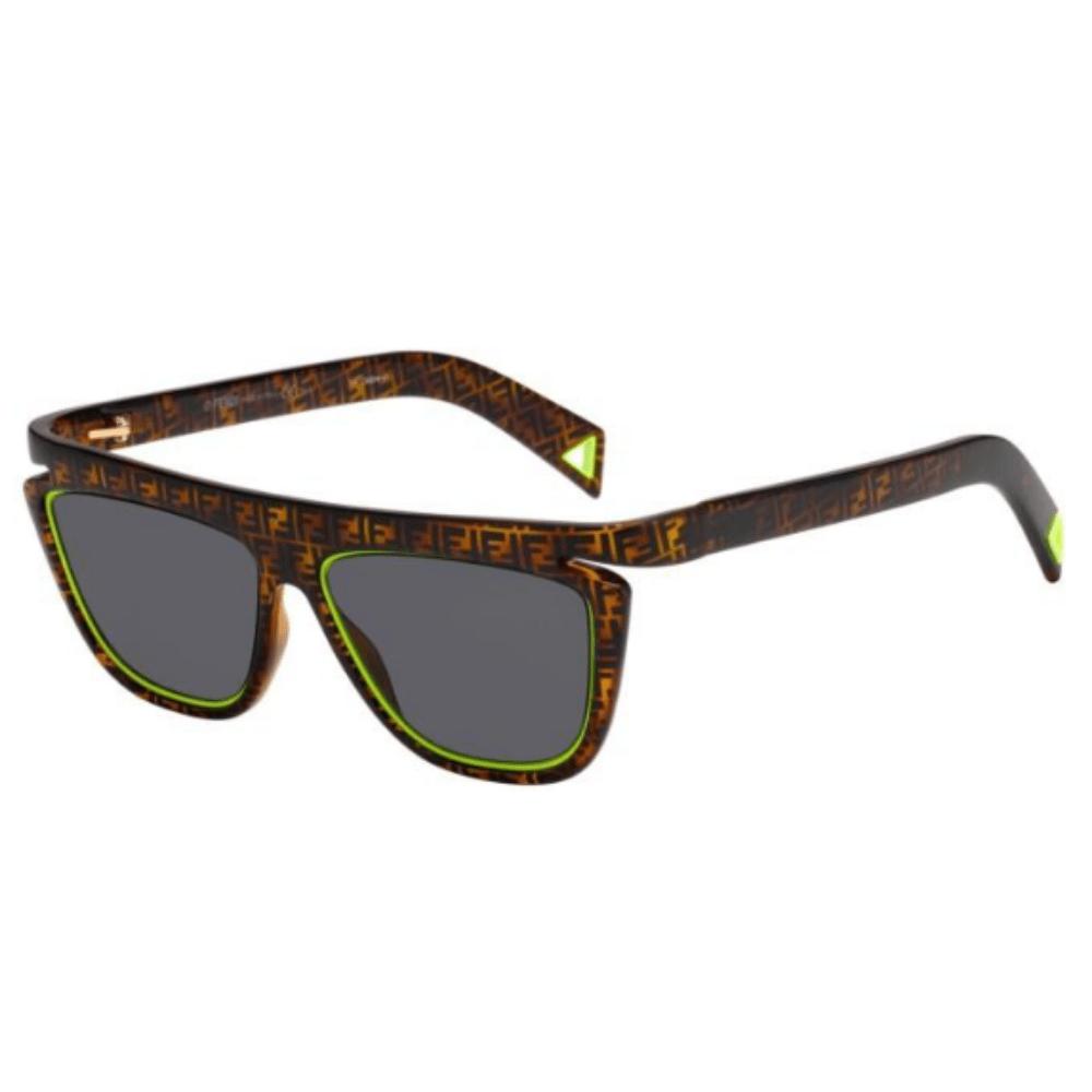 Oculos-de-Sol-Fendi-0384-S-HJV-IR-verde-neon