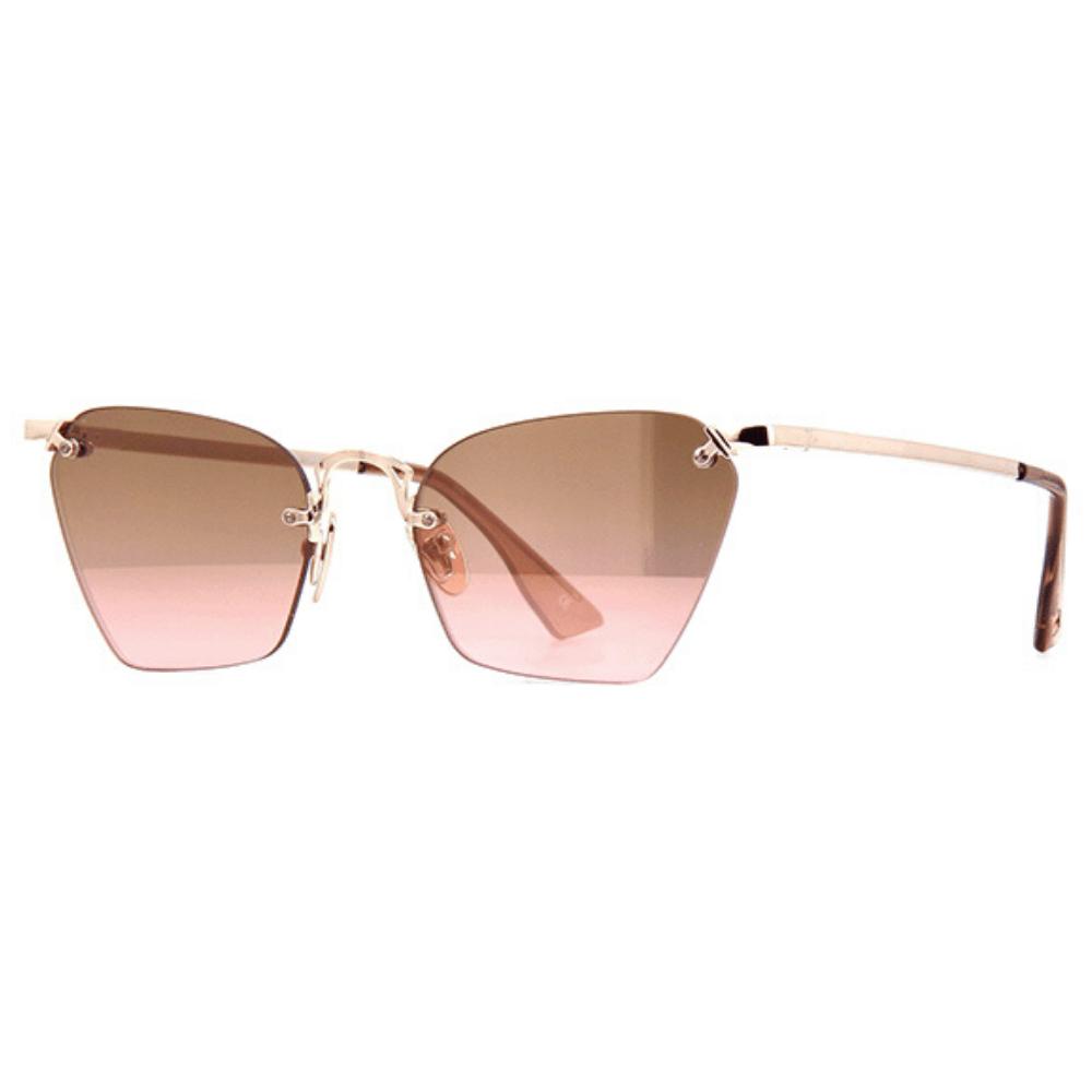 Oculos-de-Sol-Le-Specs-Pit-Stop-Dourado-Rose